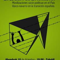 La lucha por la amnistía. Conferencia/Hitzaldia
