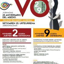 Jornadas Sarajevo, aniversario del asedio