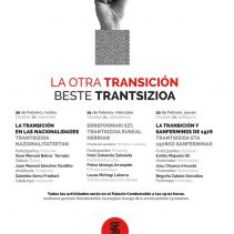 Jornadas La otra transición – Beste trantsizioa jaurnaldiak