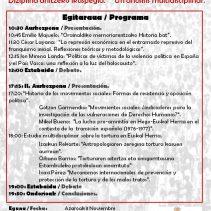 La represión estatal en Navarra 1936-2016 Estatu errepresioa Nafarroan